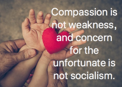 Compassion is not weakness